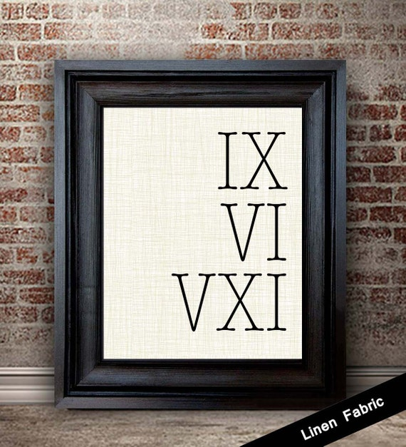 Traditional 4th Year Wedding Anniversary Gift: 4th Anniversary Gift For Men Roman Numeral Sign 4 Year
