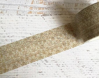 Gold Flourish Washi Tape 30mm x 10m EXCLUSIVE design