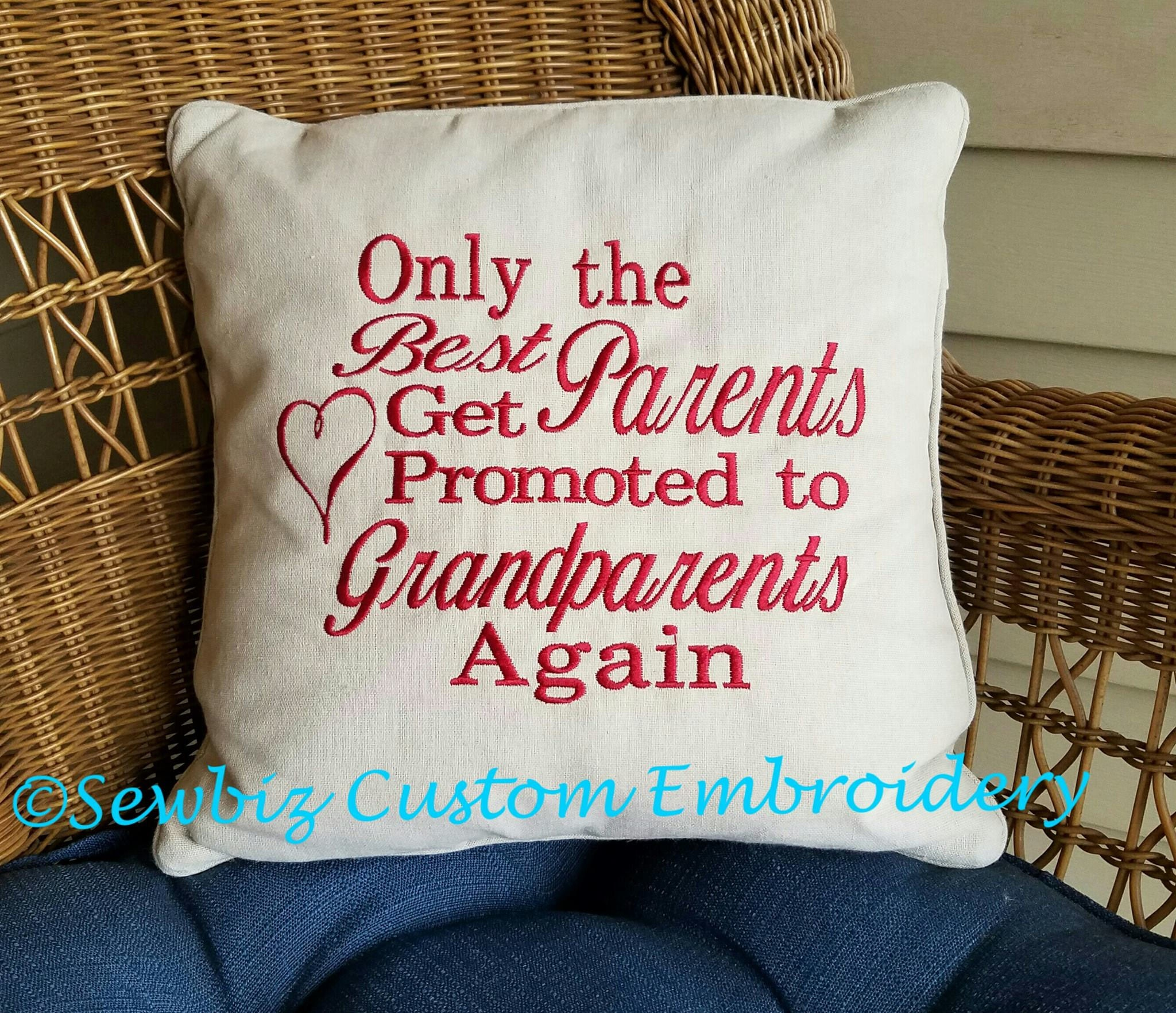 Personalized Pillows For Wedding Gift: Personalized Wedding Pillow Embroidered Pillow Wedding Gift