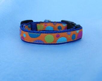 XS Groovy Dots Dog Collar