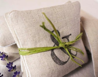 Linen Lavender Sachet - Set of 3