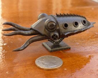 """Scuttlefish - 4"""" Mini Sub High-Detail"""