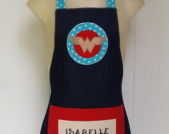 Personalised Apron- Wonder Woman