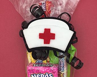 Nurse Appreciation Gift - Nurse Gift - Nurse Graduation Gift - Nurse Practitioner Gift - Nurse Thank You - Nurse Cap - Nurse Hat Tag