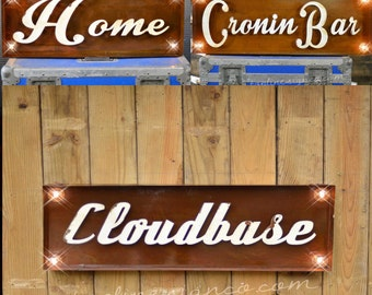 Marquee Letter, Lighted Metal MARQUEE SIGN, Marquee Light Fixture, Custom Marquee Sign, Marquee Word Box