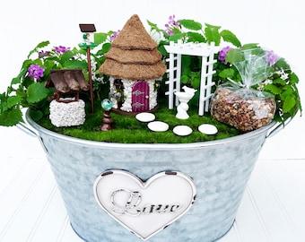 wishing you well fairy garden kit. beautiful ideas. Home Design Ideas