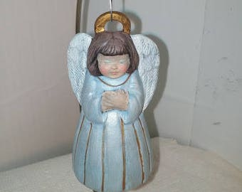 Victorian Angel Ornament with Folded Hands
