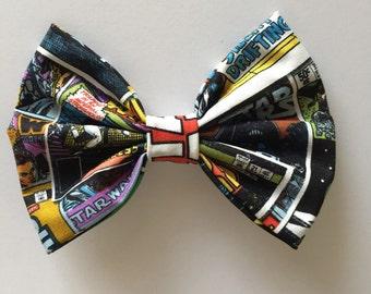 Galaxy hair bow or bowtie.
