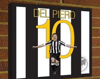 Juventus decor etsy fr for Decoration murale juventus