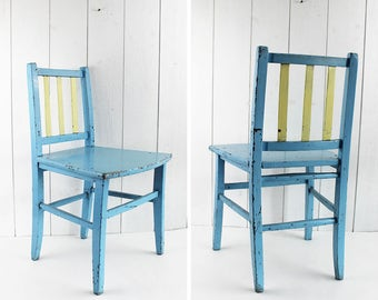 Vintage Kids Furniture Etsy