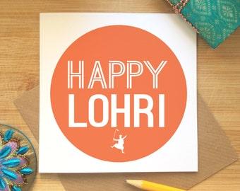Lohri etsy happy lohri card lohri festival celebrations punjabi lohri party lohri greetings harvest m4hsunfo
