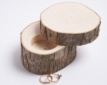 SALE! Wooden ring box, ring bearer pillow,  jewelry box, rustic wedding ring holder, rustic wedding decor, engagement ring box, ring pillow
