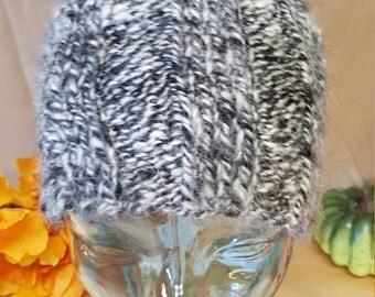 hand made hat from alpaca and dog(akita) fur.