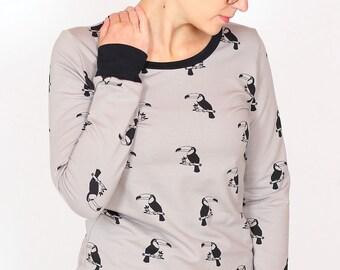 Sweater Wilma / / taupe Pelikan