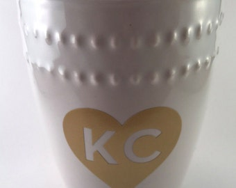 Custom Logo Vinyl Decal Enamel Mug Custom Mug Drinking - Custom vinyl decals kansas city