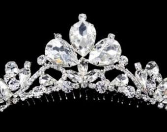 Style # 16220 Exquisite Bride Tiara Comb