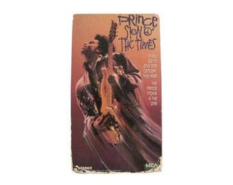Prince Sign O The Times VHS