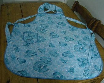 Vintage full length pinafore style apron