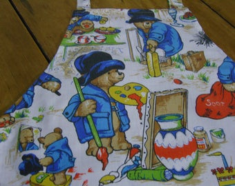 Paddington Bear Fabric Children's Apron