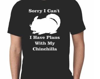 Funny Chinchilla T-Shirt/ Chinchilla Lover T-shirt