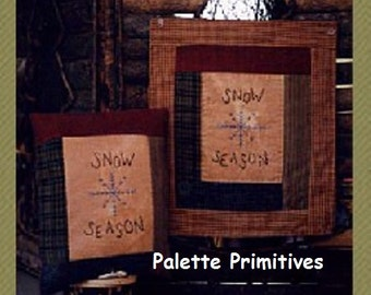 Snow Season Stichery E-Pattern/Instant Download