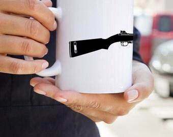 KillerBeeMoto:  U.S. Made M1 Carbine World War Two Rifle On A Coffee Mug
