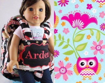 Darling and Doll Backpack in Hoot