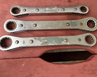 Vintage Snap-On Tools Ratchets No. 75 76 77