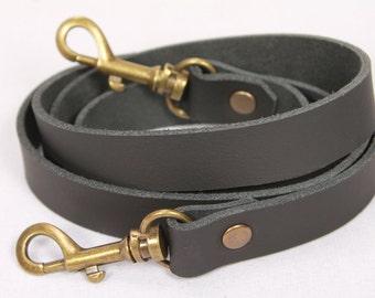 Leather bag strap | Etsy