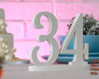 Table Numbers, Table Numbers Wedding, Table Centerpiece, Wedding Table Numbers, Table Numbers Silver, Table Numbers Gold, Silver Numbers