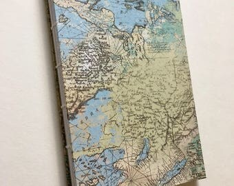 Handmade Hardcover Notebook or Sketchbook