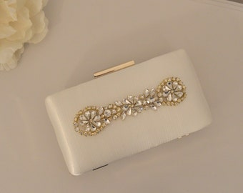 ESTELLA Bridal Ivory Clutch Bag