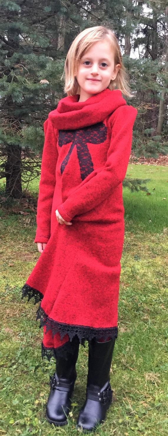 Girls sweater dress girls winter dress/girls warm dress/9 colorstoddler dress / junior dress / matching dress, leggings, and infinity scarf