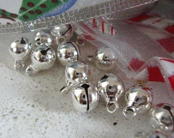 8mm Jingle Bells,Christmas jingle craft bells...8mm bells,Craft Bells,