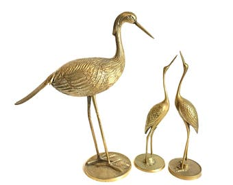Bird Sculptures brass bird sculpture | etsy