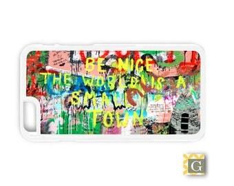 Galaxy S8 Case, S8 Plus Case, Galaxy S7 Case, Galaxy S7 Edge Case, Galaxy Note 5 Case, Galaxy S6 Case - Small Town Graffiti