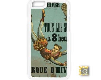 Galaxy S8 Case, S8 Plus Case, Galaxy S7 Case, Galaxy S7 Edge Case, Galaxy Note 5 Case, Galaxy S6 Case - French Circus