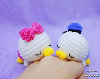 Sleeping Baby Donald & Daisy Pattern