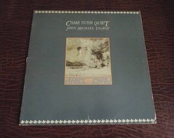 Come to the Quiet John Michael Talbot PEACE PRAYER album Vinyl 33 Gift under 10 USED Excellent Condition Vintage Record