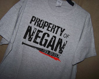 The Walking Dead PROPERTY OF NEGAN Tshirt
