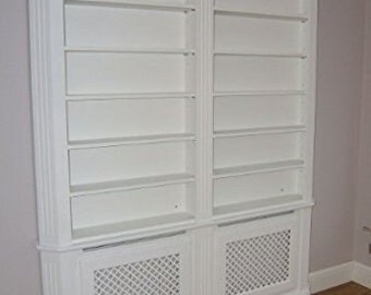 Bakewell Radiator Cover & Bookcase