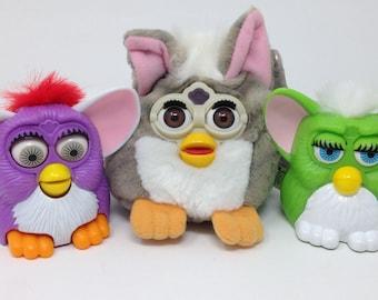Furbies - lot of 3 Furbie toys