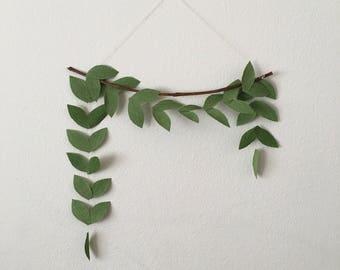 3' Leaf Garland