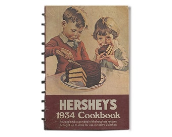 Hersey's Chocolate 1934 Cookbook, 1983 Revision