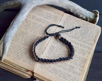 Men's Bracelet. Custom Colours. Hemp Bracelet. Anklet. Women's Hemp Bracelet. Hippie Bracelet. Boho Jewelry. Natural Jewelry. Eco-Friendly.