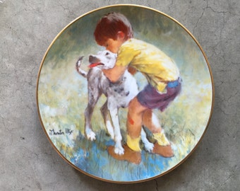 "Viletta ""Best Friends"" Plate"