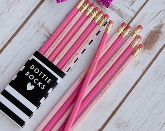 Naughty! Bridget Jones Pencils, Mr..... Fitzherbert. Set of 6