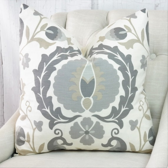 Pillow Covers Gray Throw Pillows 24x24 Pillow Covers 22x22