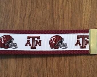 Texas A M Key Chain Zipper Pull