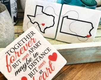 Custom State Coasters, Travel
